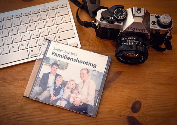 Fotos auf CD, DVD, als Download oder Print-Out