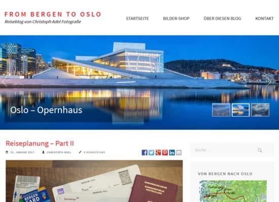 From Bergen to Oslo - Norwegen-Reiseblog